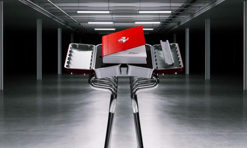 フェラーリがエンジンデザインにインスパイアされたコレクターズブックを発売
