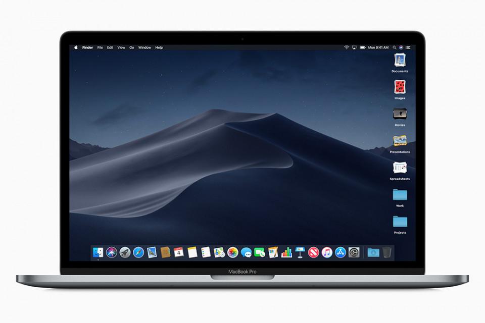 アップルが新たなmacOSに「ダークモード」を追加