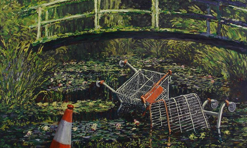 バンクシーのアート作品展が7月にロンドンで開催へ