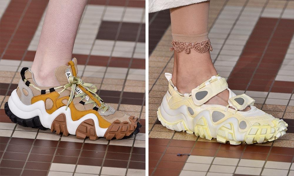 アクネ ストゥディオズによる2019年春夏コレクションの新作スニーカー