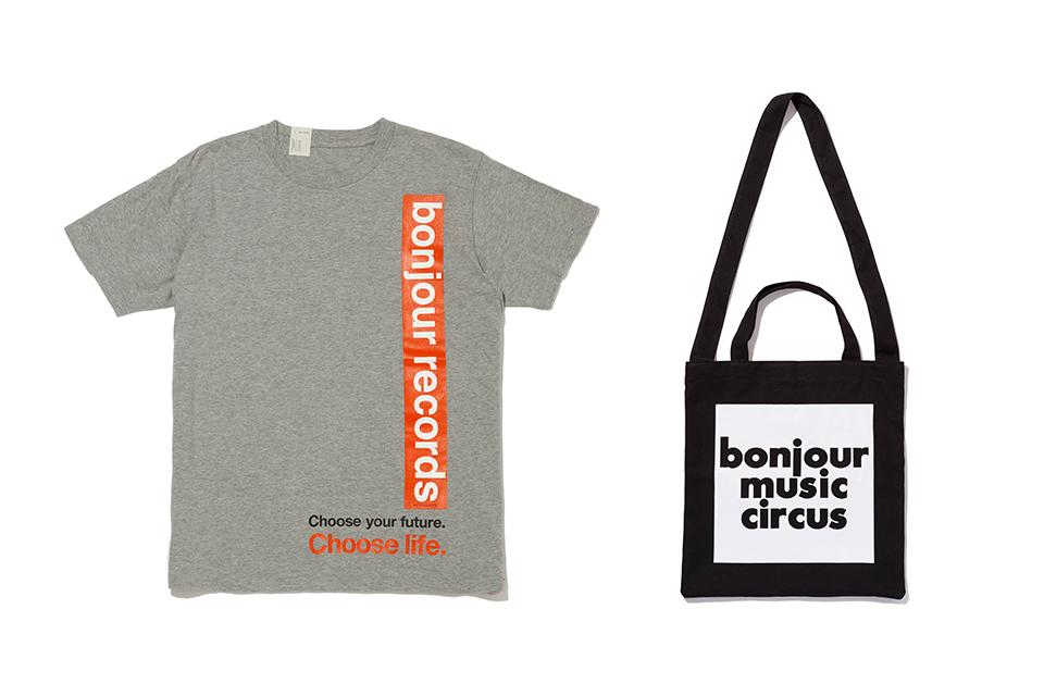 ボンジュール・レコードが全国ツアー「bonjour music circus」を開催