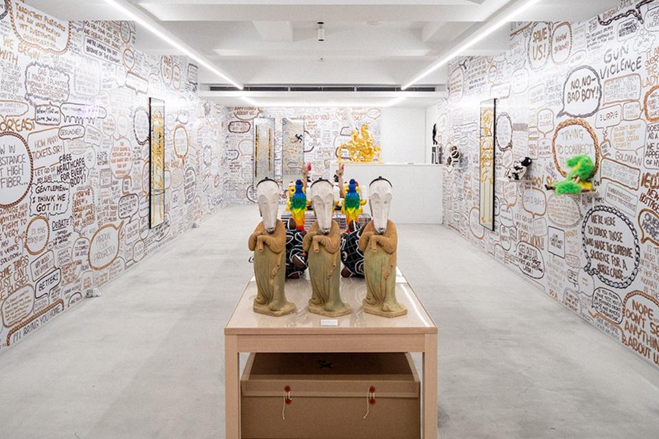 中国のポップアーティスト徐震® の『Xu Zhen Store』展が開催中