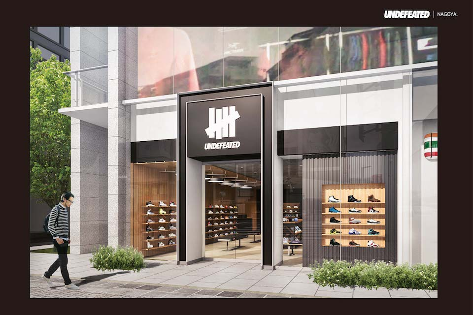 アンディフィーテッドが名古屋エリアに新店舗を初オープン