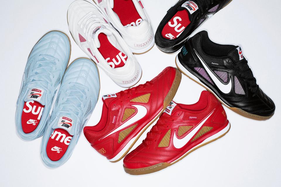 Supreme × Nike SBによるクラシックのアスリートシューズが復活