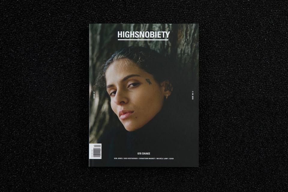 070シェイクが『Highsnobiety Magazine Issue 17』の表紙に登場
