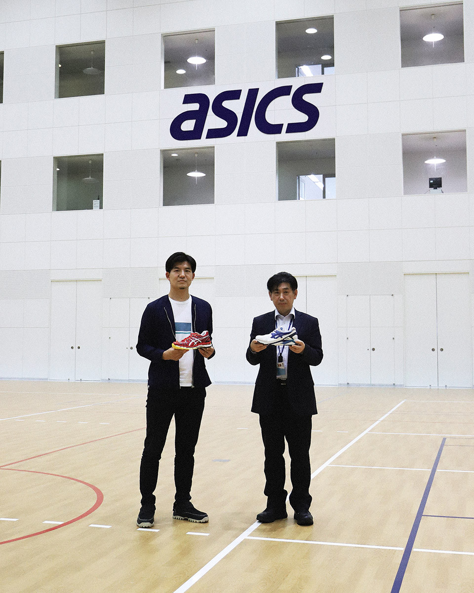 ASICS footwear designers Yoshiyasu Ando (Left) and Toshikazu Kayano (Right)