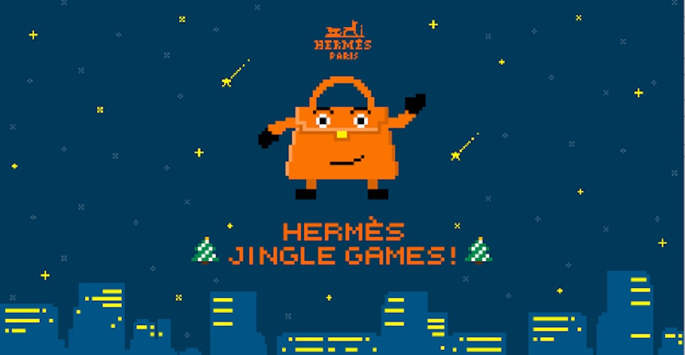 HERMÈSがスペシャルサイトを期間限定で公開