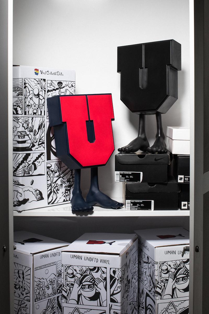UNDEFEATEDがMEDICOMとのコラボレーションフィギュアを発売