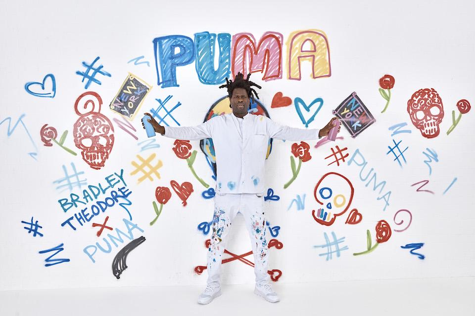 PUMAからスカルが印象的な<br>アーティストコラボレーションが登場