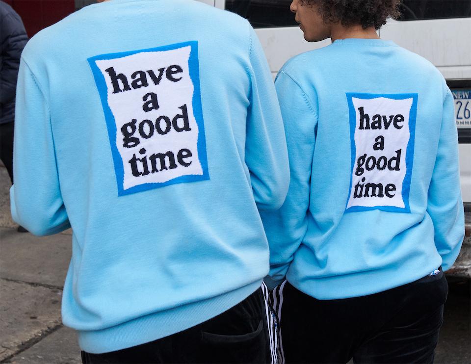 have a good timeが<br>adidas Originalsと再びタッグを組む
