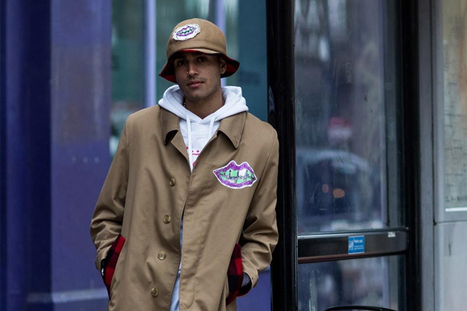 ロンドンファッションウィーク<br>ストリートスナップ