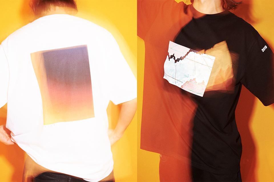 FUTURとGraphpaperの世界を融合<br>限定のグラフィックTシャツが登場