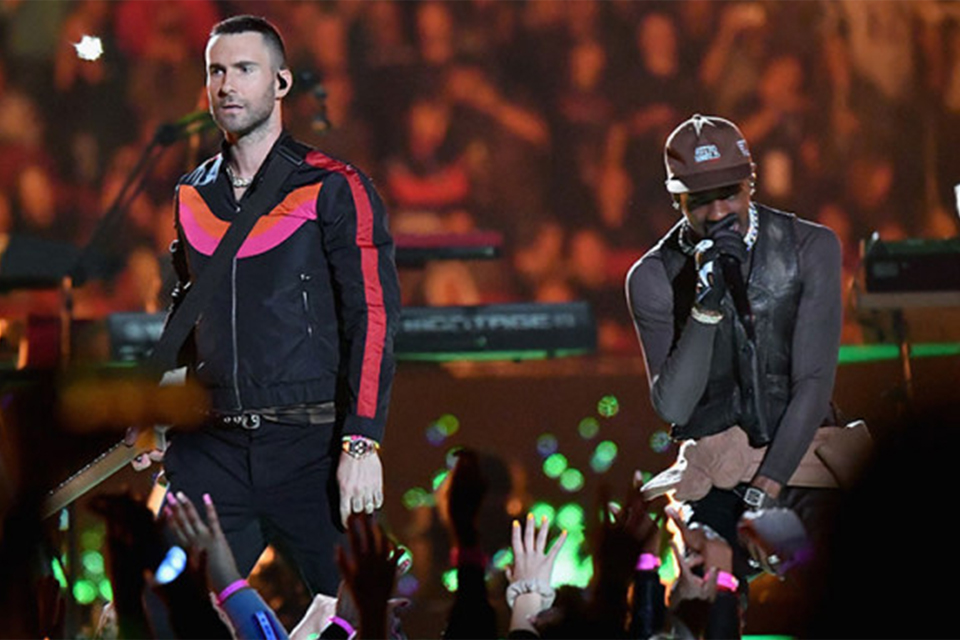 Maroon 5やTravis Scottなど<br>Super Bowl LIIIに登場