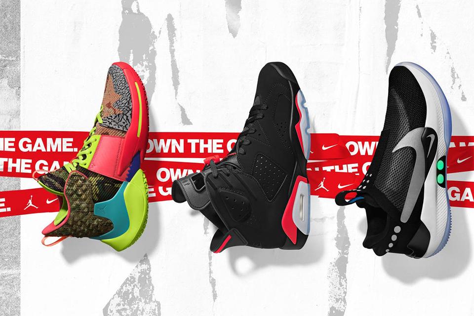 Nike x JORDAN BRANDによる<br>2019 NBAオールスターコレクション