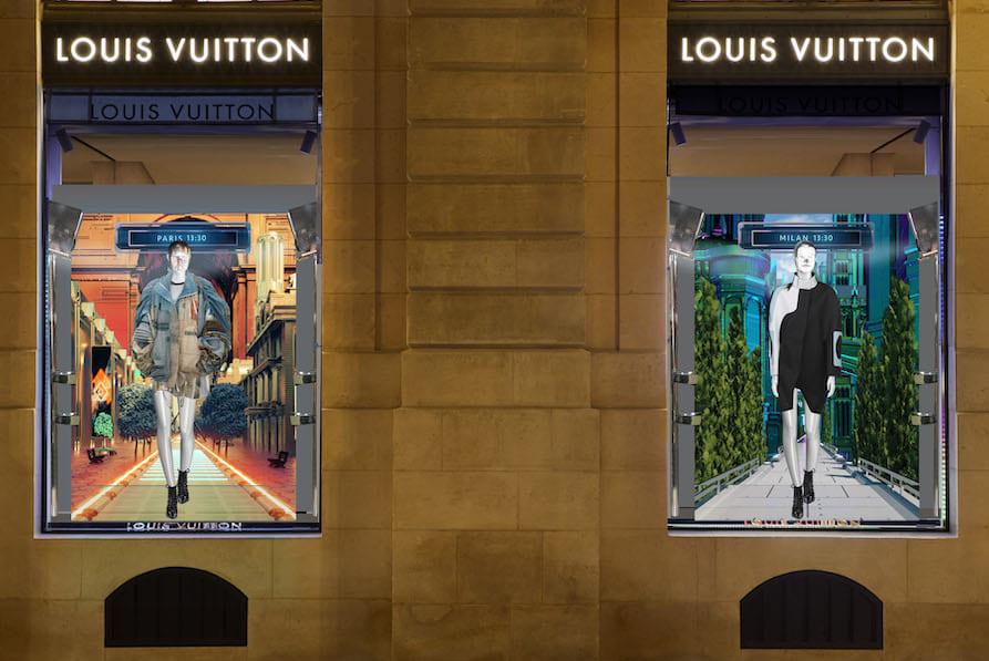 Louis Vuittonが送る<br>未来からのポストカード