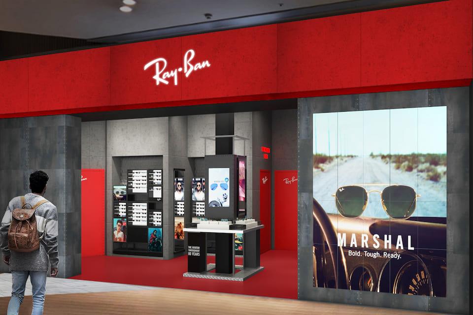 Ray-Banの新直営店<br>ららぽーと豊洲に誕生