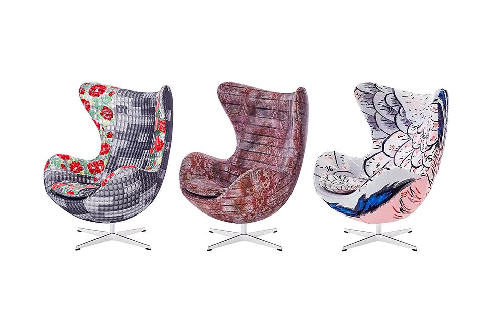 3人のファッションデザイナーによる<br>Fritz Hansenの名作チェア