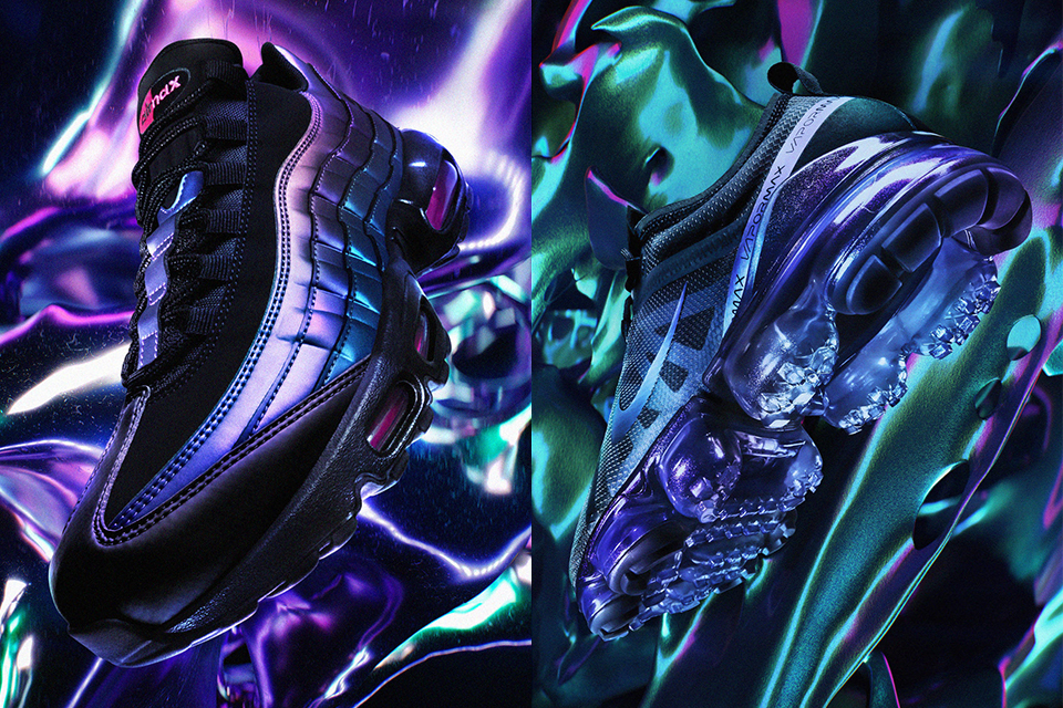 best service af1ea 43d4b Nikeの新旧モデルが一堂に会する. Air Max Throwback Future Pack