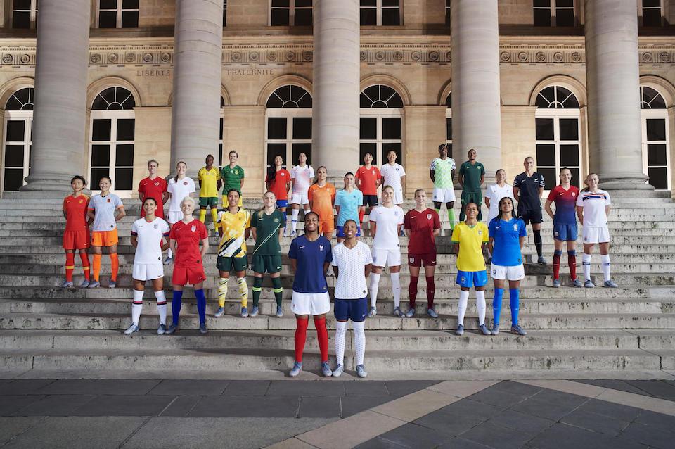 Nikeが女性のスポーツ参加支援<br>UEFA女子フットボールと提携も