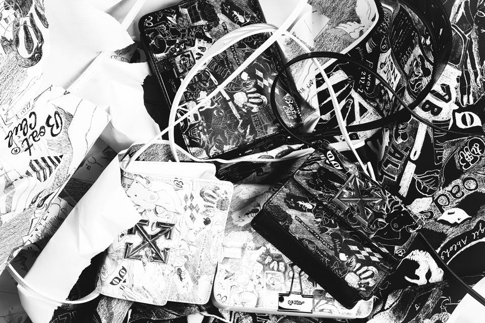Off-Whiteのバッグが勢ぞろい<br>伊勢丹で初のポップアップ