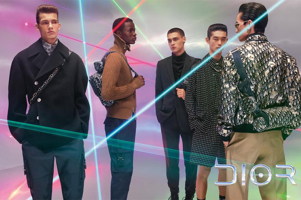レーザー光線が彩る<br>DIOR MEN 最新キャンペーン