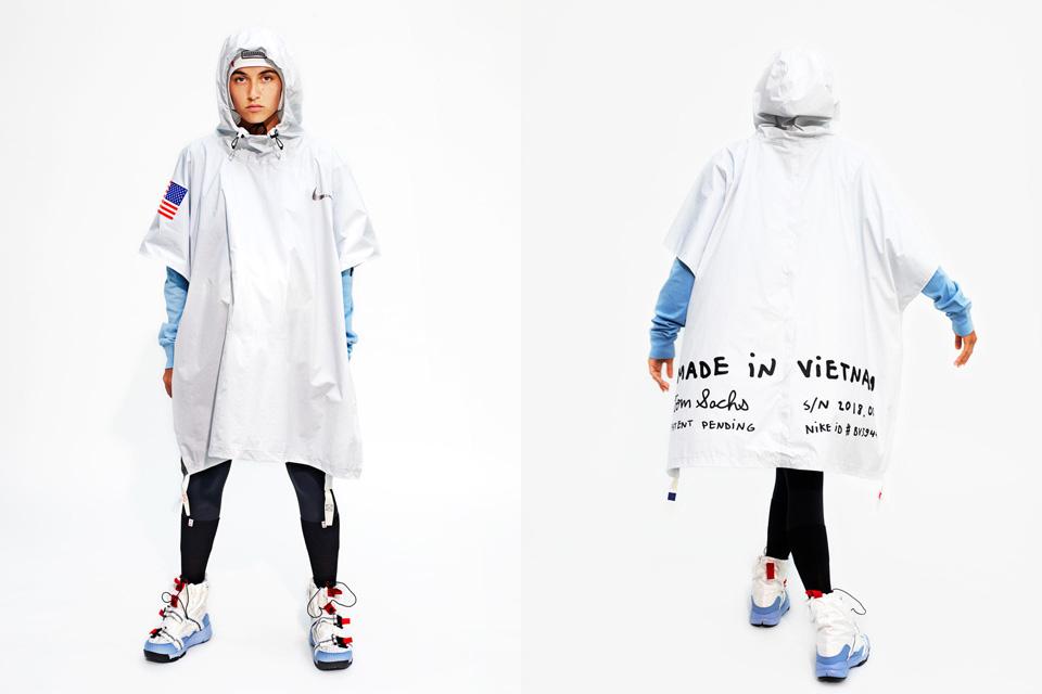 Nikeとトム・サックスの集大成<br>変身するポンチョ