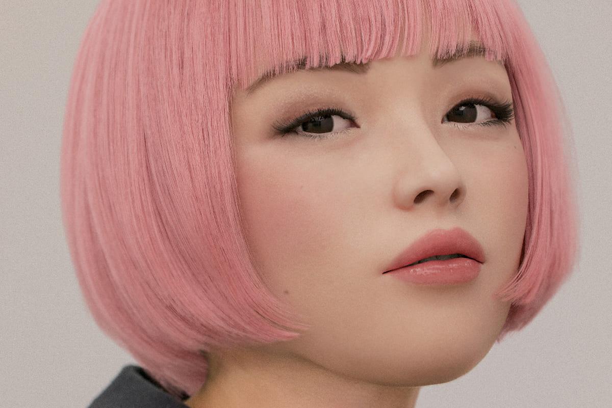 ピンクヘアのバーチャルヒューマン<br>immaが描くリアルワールド