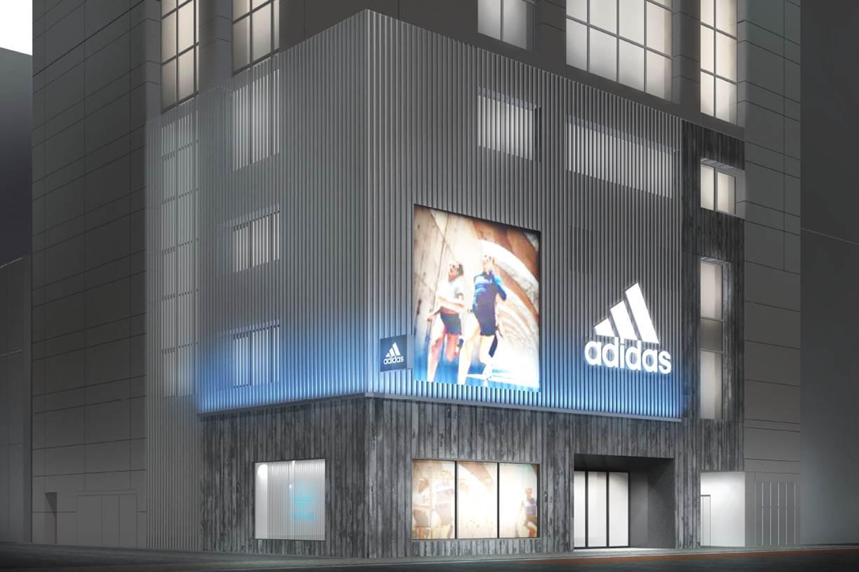 渋谷のアディダス国内最大旗艦店<br>「スタジアム」コンセプト刷新