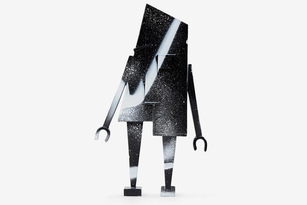 アーティストFuturaとConcrete Objects<br>フィギュア「NULL」をリリース