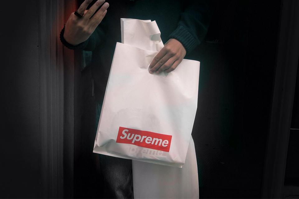 Supremeのショッパーも廃止に?<br>ニューヨーク州でもポリ袋禁止へ