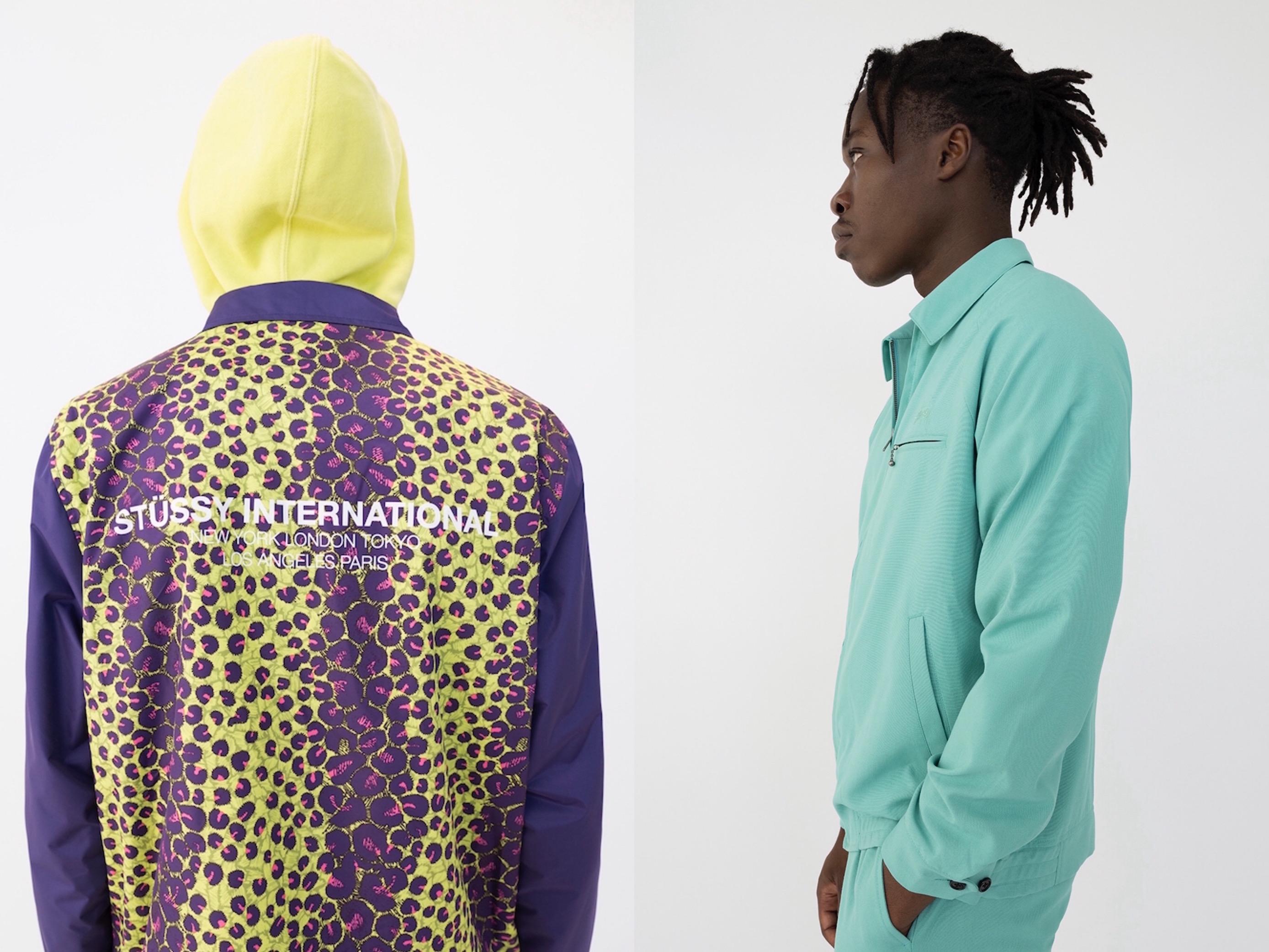 鮮烈色彩や柄、アウトドアの要素も<br>「Stüssy」2019年夏コレクション