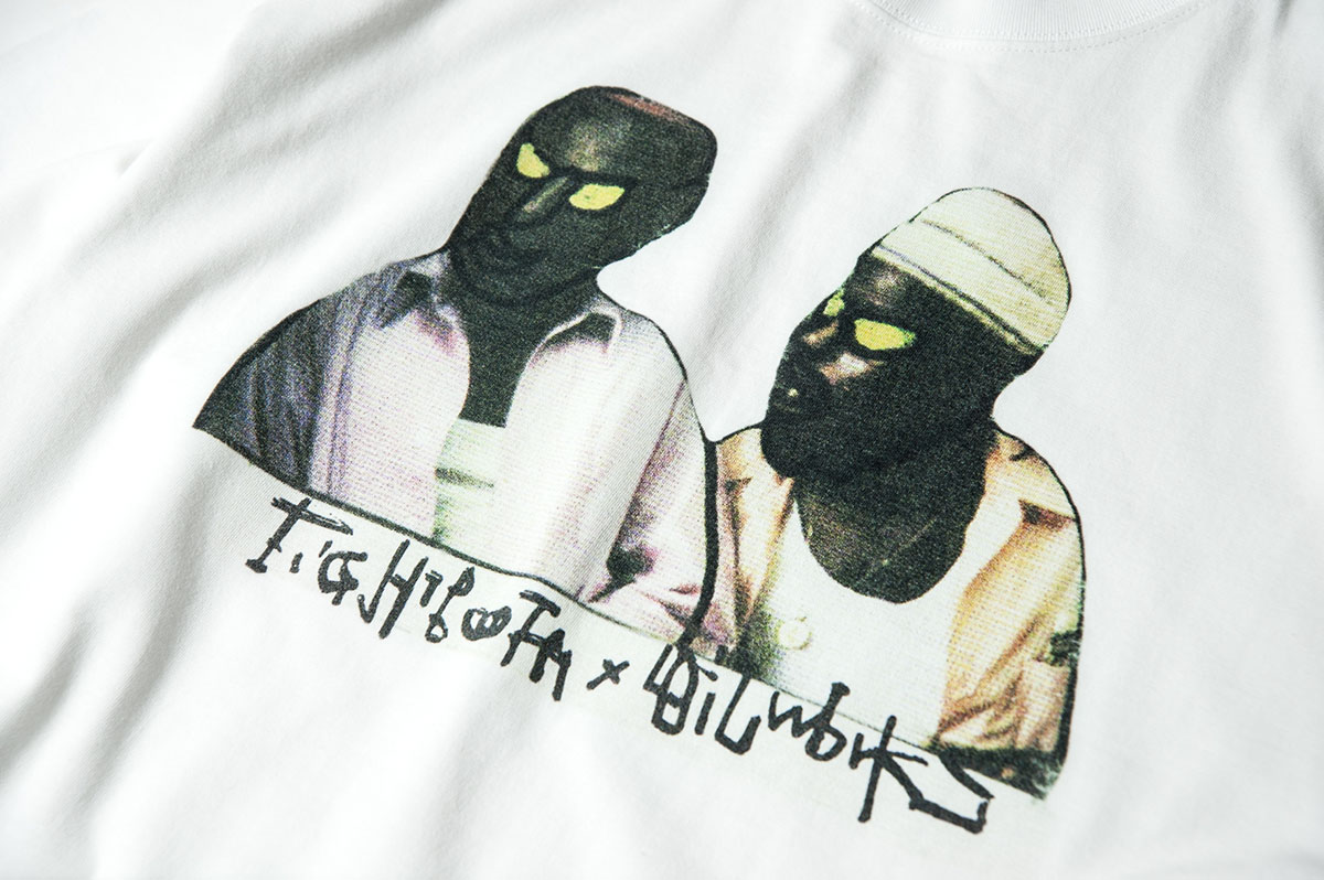 TIGHTBOOTH<br>OILWORKSとコラボ