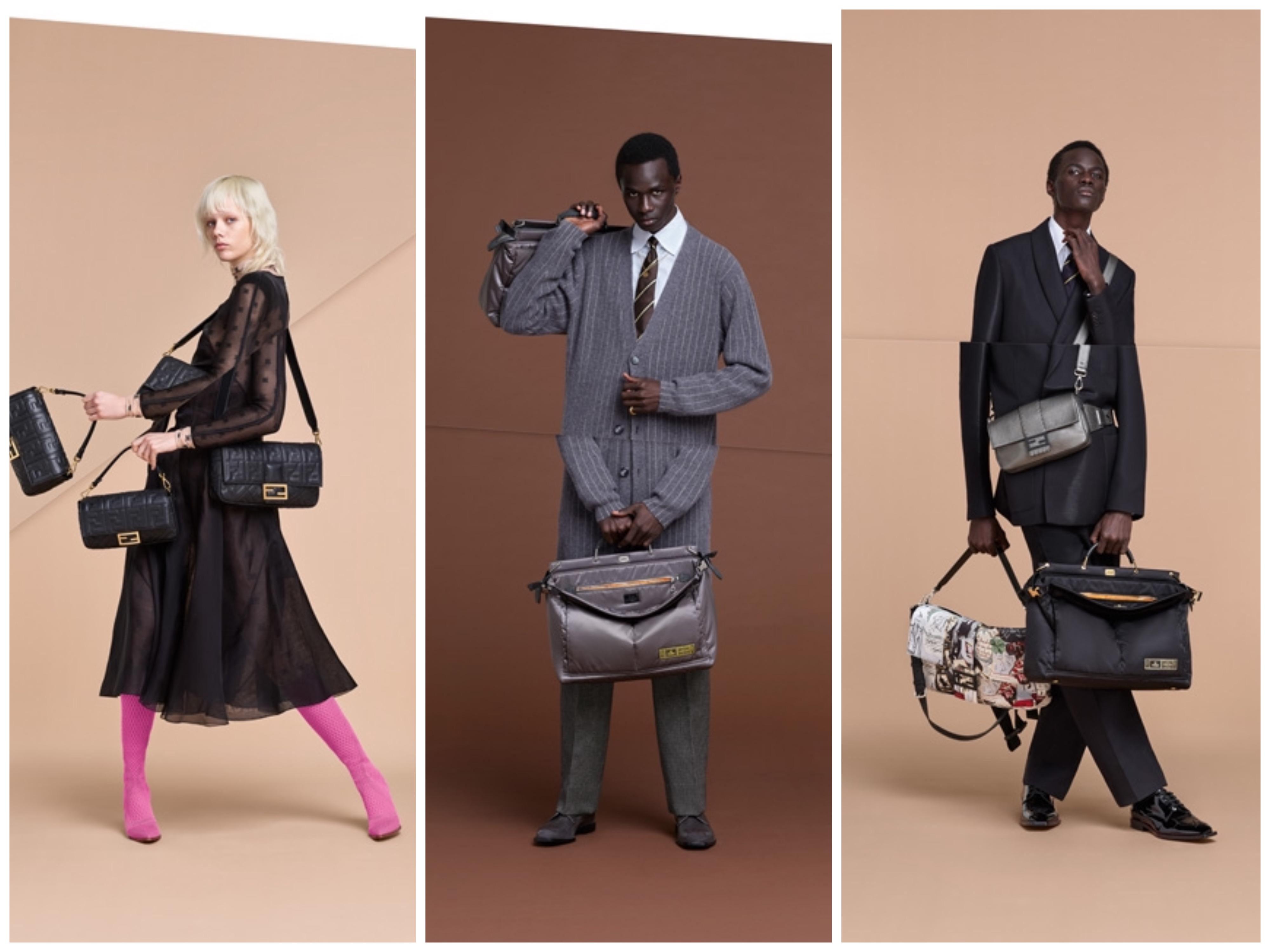 FENDI 2019-20年秋冬メンズ広告 <br>「デュアリズム」色濃く反映