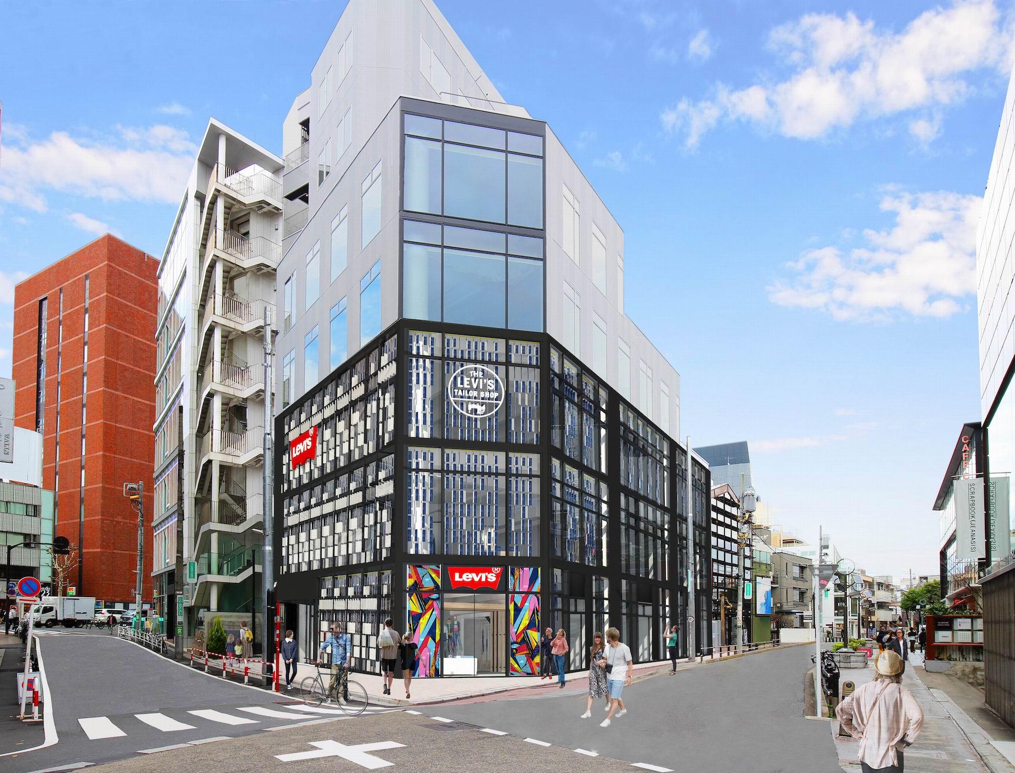 アジア最大級のLevi's®︎ストア<br>日本1号店が移転オープン