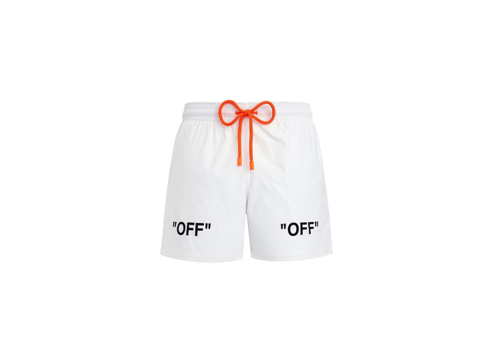 「OFF-WHITE」から新スイムウェア<br>仏ブランドとコラボレーション