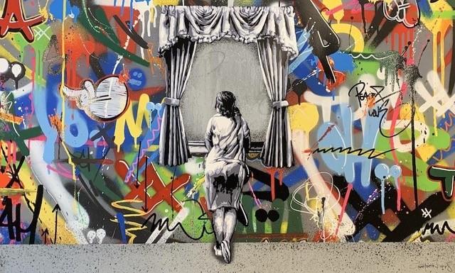 気鋭のストリートアーティスト集結<br>「小宮山書店」がアートショー