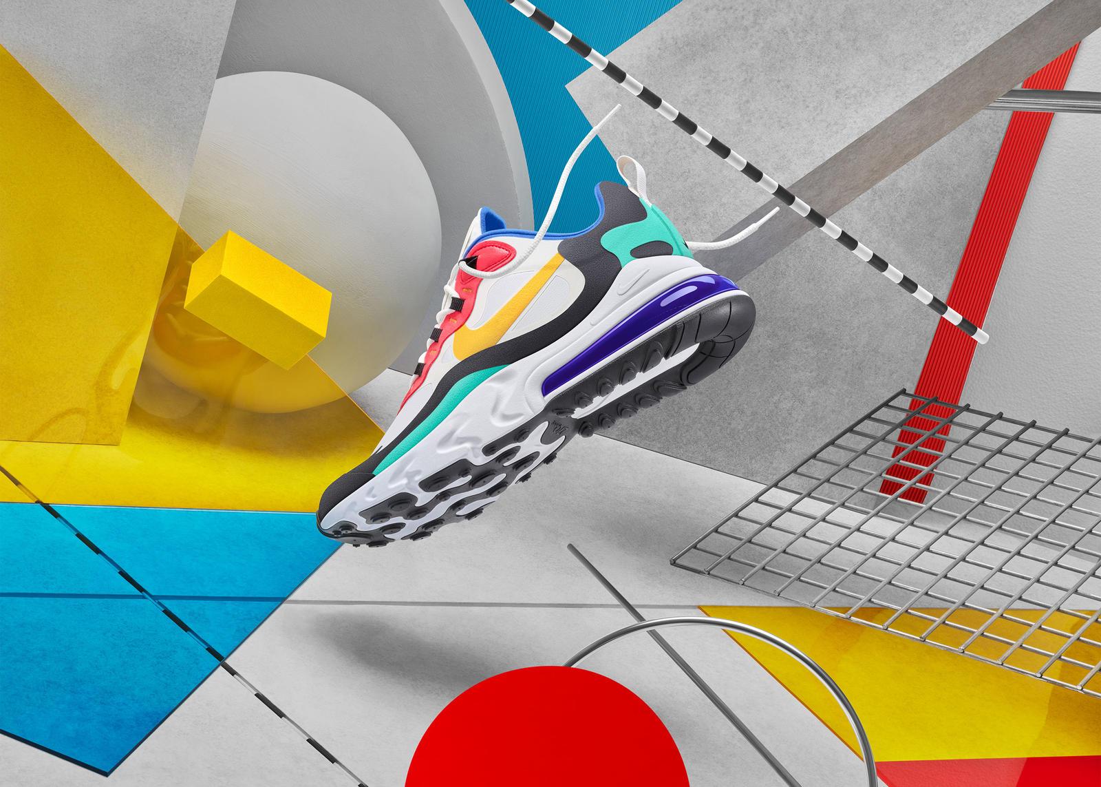 縫い目作らず素材重ねる新製法 <br>「エア マックス 270 リアクト」発売