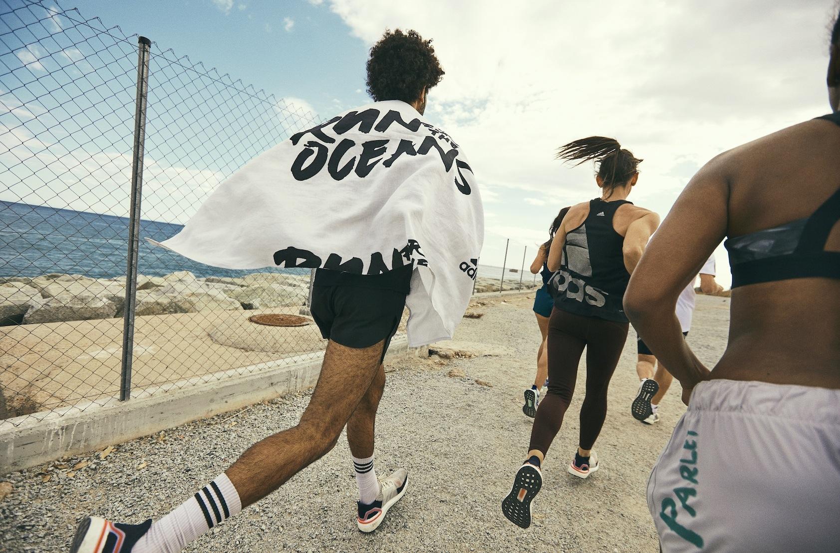 海洋プラスチック汚染にNO<br>adidas、走って寄付するイベント