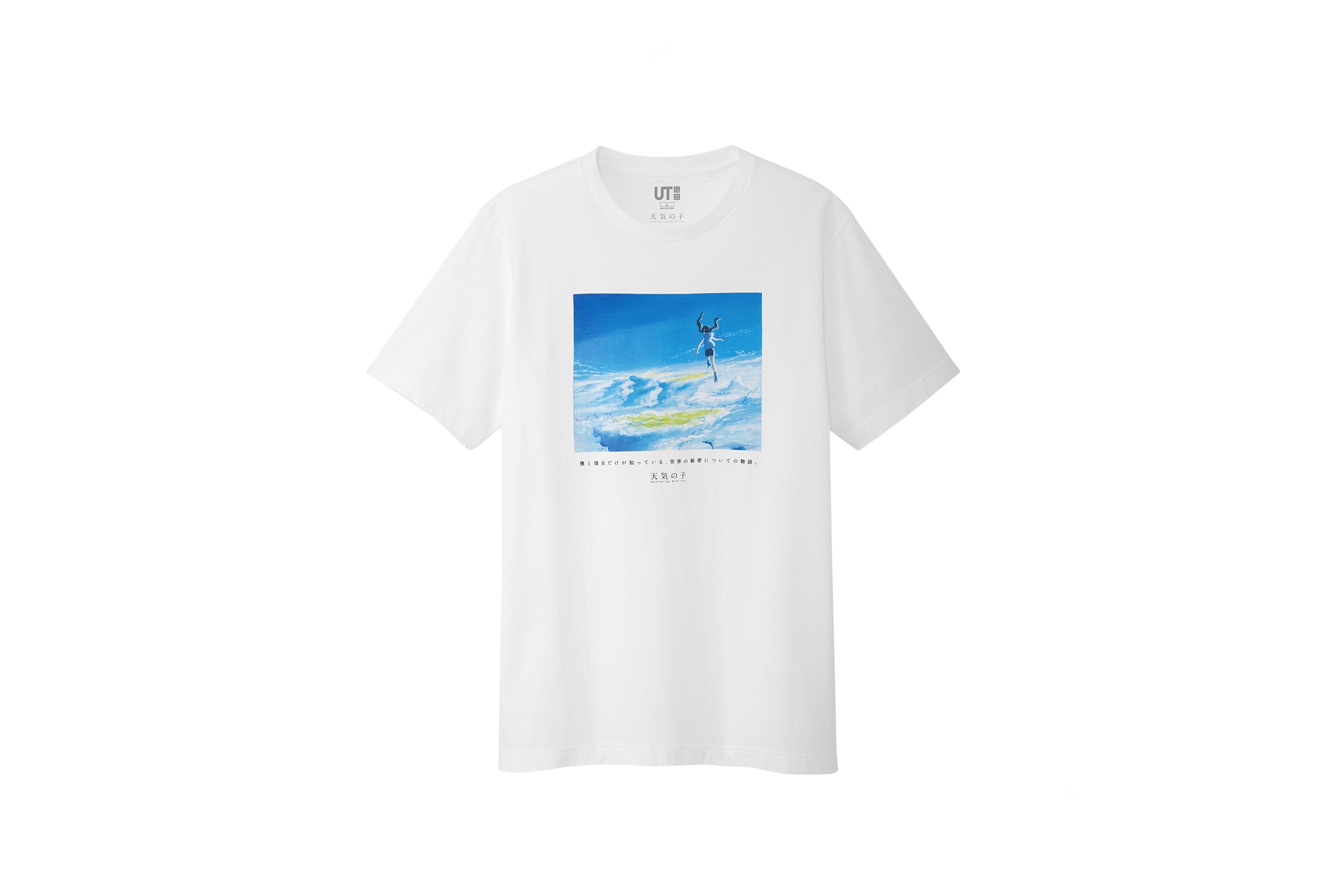 新海誠監督が描く「空」テーマに<br>「UT」新Tシャツコレクション