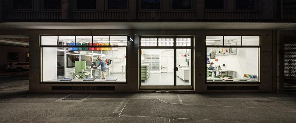 自分でバッグを作れるショップ<br>FREITAG、チューリッヒに新店