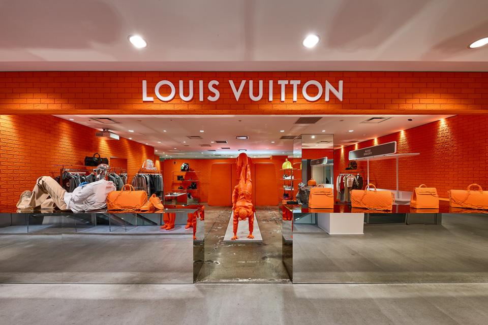 Louis VuittonがDover Street Market Ginzaをジャック