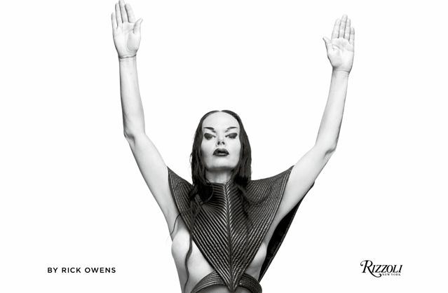 Rizzoli社から「Rick Owens」<br>写真集 10年振り返る写真集など2冊同時に