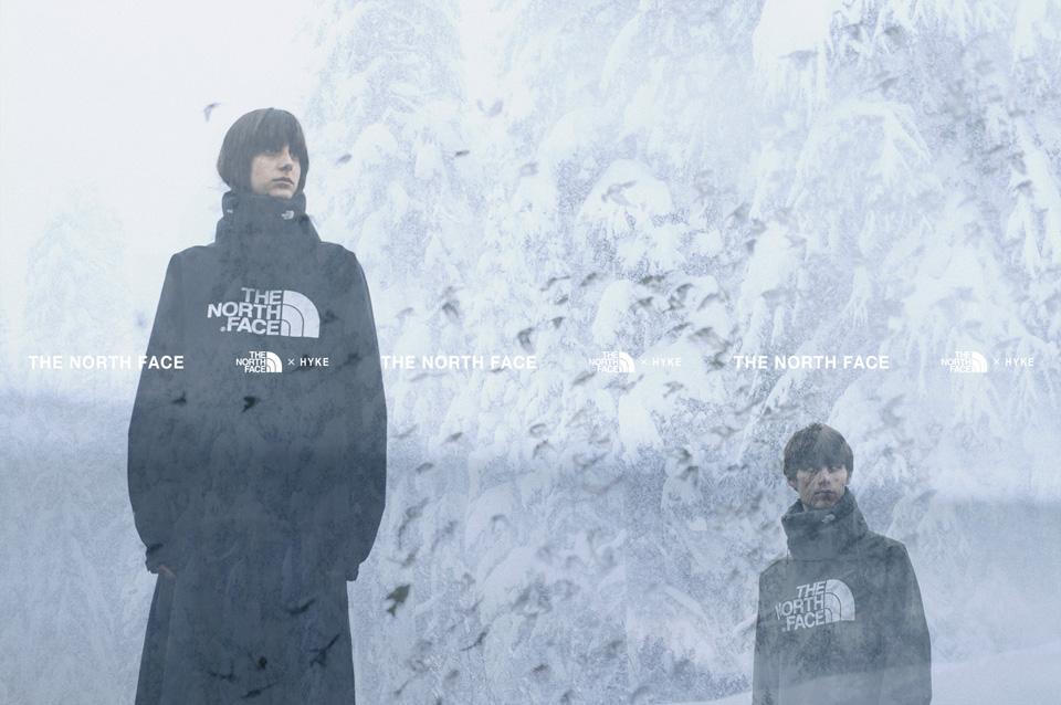 THE NORTH FACE × HYKE<br>ラストを飾る4シーズン目発売へ