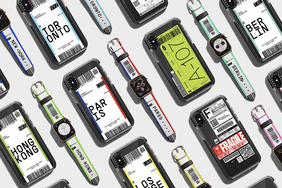 CASETiFY×Pangram Pangram®︎<br>旅行気分味わう12都市デザイン