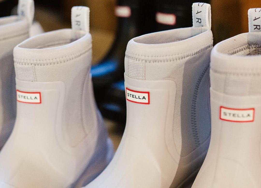Stella McCartney×HUTNER<br>認証ナチュラルラバー採用のブーツを発表