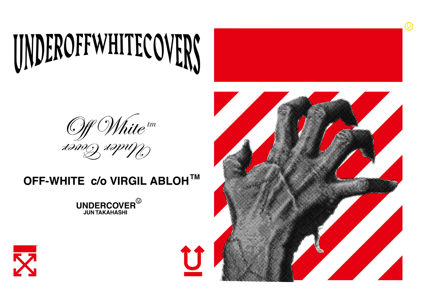 「OFF-WHITE™」と「UNDERCOVER」<br> 初のコレクション、日本先行発売