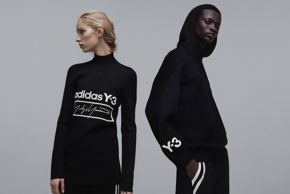 「Y-3」2019秋冬コレクション<br>装飾排したキャンペーン「パート 2」
