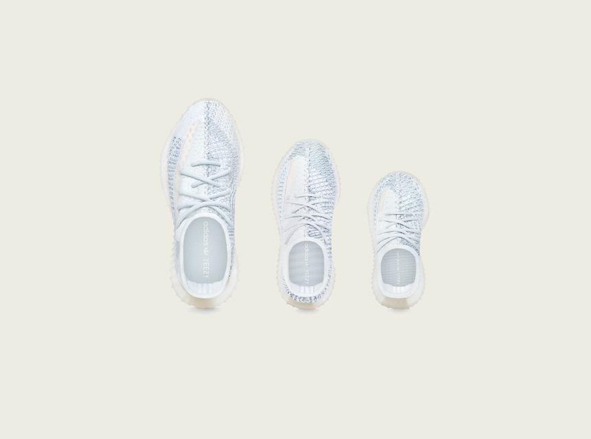 「adidas + KANYE WEST」<br>ファミリーサイズの新モデル