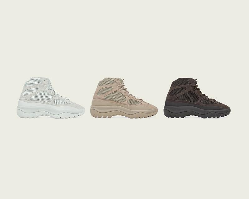 「adidas + KANYE WEST」<br>ファミリーサイズで3モデル登場