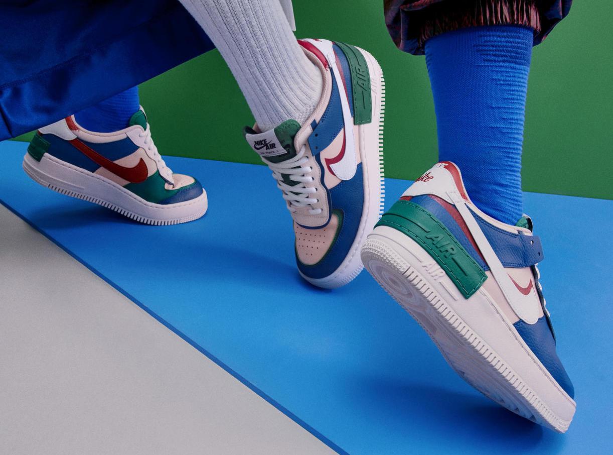 Nike「ウィメンズ エア フォース 1」<br> ホリデーシーズンに新モデル